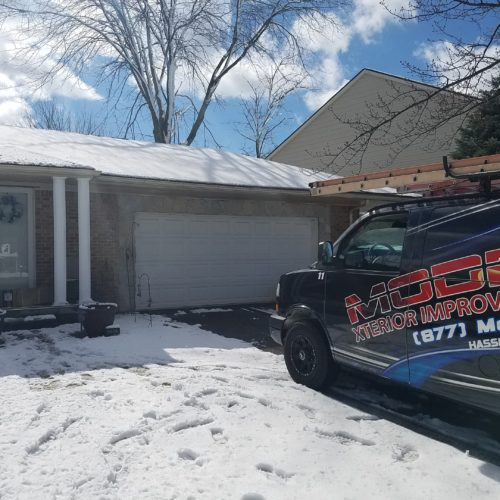 New Roof In Livonia With Certainteed Weathered Wood