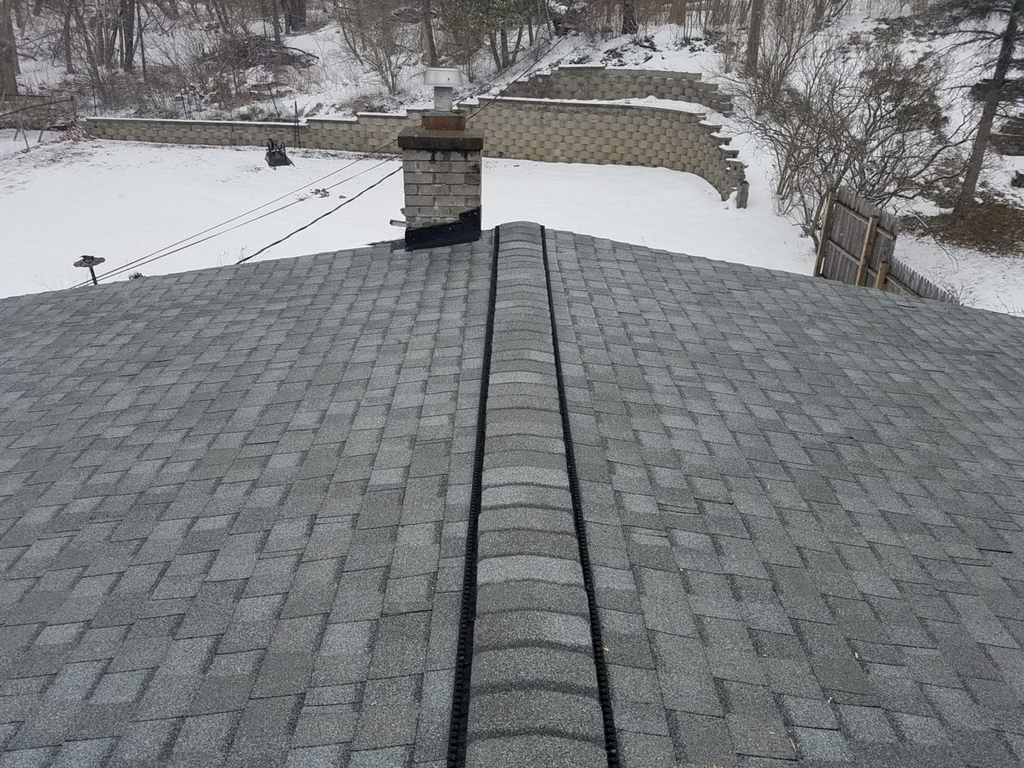 Milford Roofing With Certainteed Landmark Cobblestone Grey