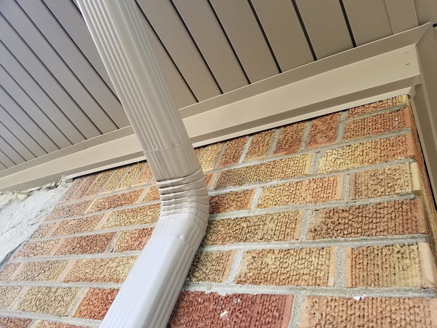 New Gutters And Trimmed Soffit In Livonia Michigan